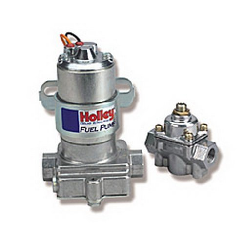 (Holley L:12-802-1 Electric Fuel Pump with Regulator - 110 GPH)