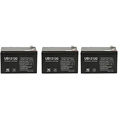 Universal Power Group 12V 12Ah Replacement Battery for Emad 800w Electric Skateboard - 3 Pack : Sports & Outdoors