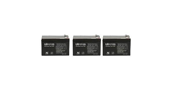 Amazon.com: 12 V 12 Ah Batería de repuesto para Zappy ...
