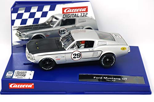 Carrera 30794 Ford Mustang GT No. 29 1:32 Scale Digital 132 Slot Car Racing Vehicle