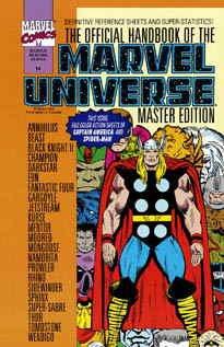 Official Handbook Marvel Universe Master Edition #14