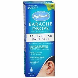 Hylands Homeopathic, Earache Drops,Adult/Child -- .33 Oz Personal Healthcare / Health Care by Hyland's (Children Earache Drops)