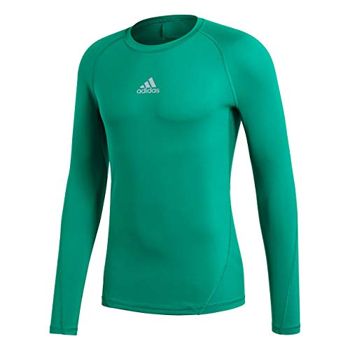 Bold Adidas Pour Alphaskin shirt Ls Homme Green T cw88TYqv