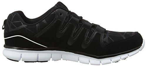 Gola Active Mens Termas 2 Sneakers In De Maat Uk7 T / M Uk15, 2 Kleuropties Zwart