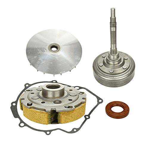 Wet Clutch Drum Housing & Primary Sheave Pad Shoe with Gaske Fit for 2004-2007 Yamaha Rhino 660 & 2002-2008 Yamaha Grizzly YFM660