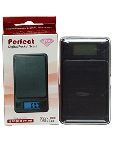 Perfect Digital Pocket Scale No Aplicable Black