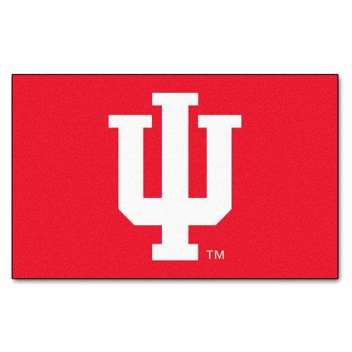 FANMATS NCAA Indiana University Hoosiers Nylon Face Ultimat Rug