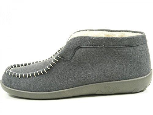 Rohde Ballerup 2236 Zapatillas de casa para mujer Grau