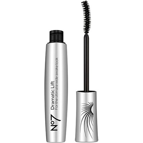 Boots No7 Dramatic Lift Mascara Black (Super Lash Mascara Curved Brush)