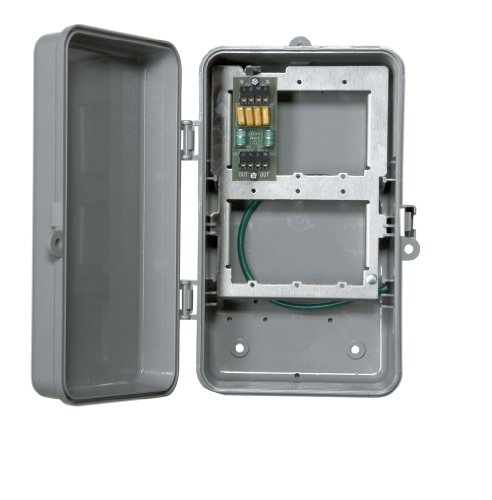 Intermatic IG2T3R Two Line Outdoor Phone Protector in NEMA 3R Plastic Enclosure (Weatherproof Phone Enclosure)