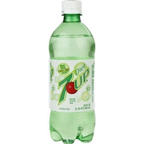 amazon com 7 up diet soda soft drink 20 ounce pack of 24