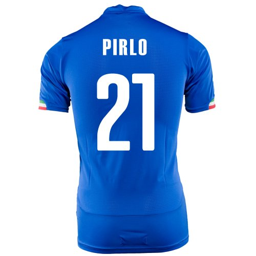 Puma Pirlo #21 Italy Home Jersey World Cup 2014 ()