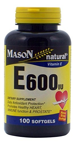 Amazon Com Mason Natural Vitamin E 600 Iu Dietary Supplement