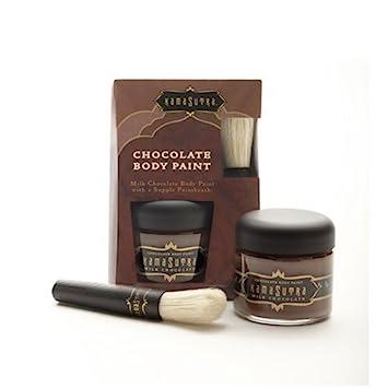 Amazon.com: Kama Sutra Dark Chocolate Body Paint, KS10097, 2 ...
