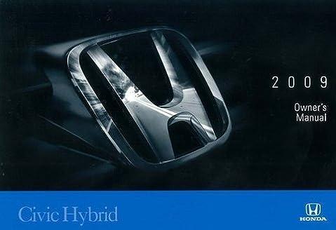 2009 honda civic 4 door sedan owner s manual original honda rh amazon com honda civic hybrid 2009 owners manual pdf Black Honda Civic Hybrid 2009