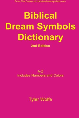 The Biblical Dream Symbols Dictionary is an easy-to-use reference tool. Designed with concise definitions in easy to understand terms. This book is a great addition for those aspiring to understand their dreams and help interpret the dreams o...
