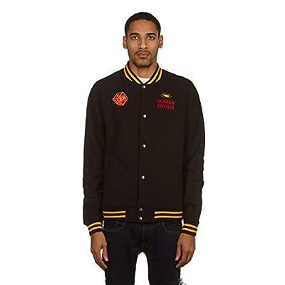 Billionaire Boys Club 861-7401 Cotton Varsity Jacket Fall 2 Black