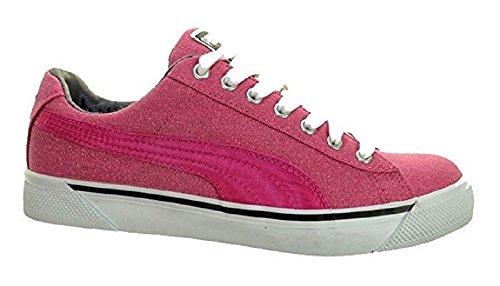 Puma - Zapatillas de Lona para mujer Rosa rosa 40.5