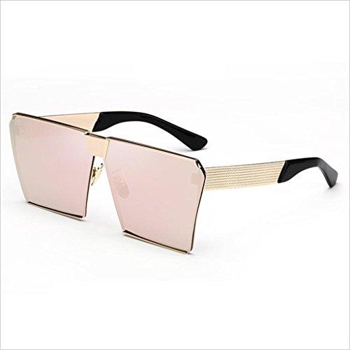 de de Gafas sol de polarizadas JIU Espejo playa Pareja sol de Deportes Visual Pink libre al Viajes conducción aire contra UV HD Pink Color Gafas Espejo la los Ocio rayos IxRxqnd