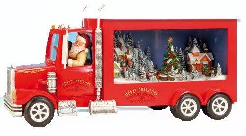 Music Box World 52002 Miniatur Santa's Truck