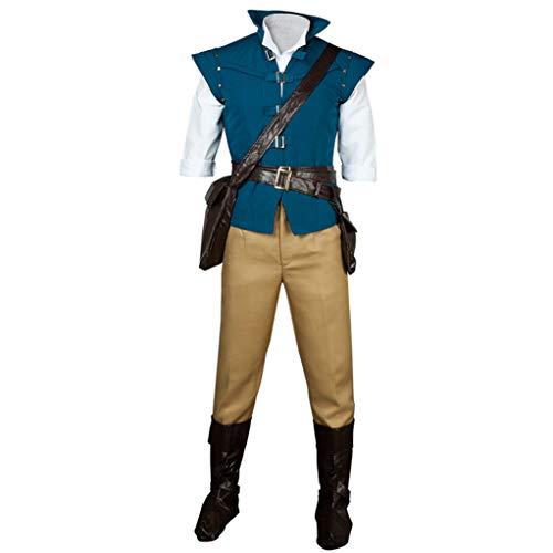 CosFantasy Best Flynn Rider Cosplay Costume mp001594 (L(Bust: 37.5inch))