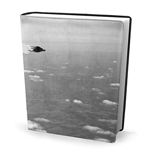 Flying Aeroplane Wing Book Cover 9x11 Inch Book Sox Stretchable Book Cover Fits Large Hardcover Textbooks Up to 9x11 Inches