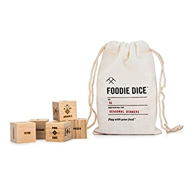 Foodie Dice® No. 1 Seasonal Dinners (pouch)
