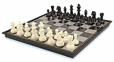Chess & Checkers Folding Magnetic Travel Set - 12.5""