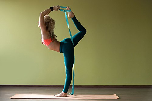 Veda Yoga Strap 8ft Pilates, Exercise, Stretching Durable Cotton