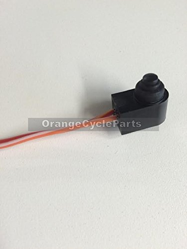Orange Cycle Parts Master Cylinder Front Brake Stop Light Switch for Harley 1996 - 2013 Replaces OEM # 71590-96 and 71621-08 by Orange Cycle Parts