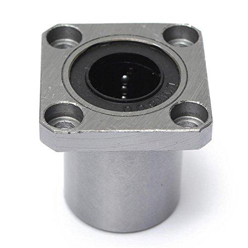 - Cnc Parts LMK16UU LMK16 Metric 16mm round flange ball bearing bushing