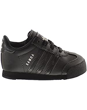 Samoa I Infant Shoes Core Black/Core Black/Metallic Silver s85297