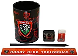 Pack Scolastico Racing Club Rugby Rugby, Nero RACING CLUB TOULON