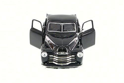 1950 Chevy Pickup - Showcasts 1950 Chevy 3100 Pickup Truck, Black 34952 - 1/24 Scale Diecast Model Toy Car, but NO BOX
