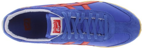 Onitsuka Tiger California 78 Vin Fashion Shoe,Blue/Fiery Red,7.5 M US