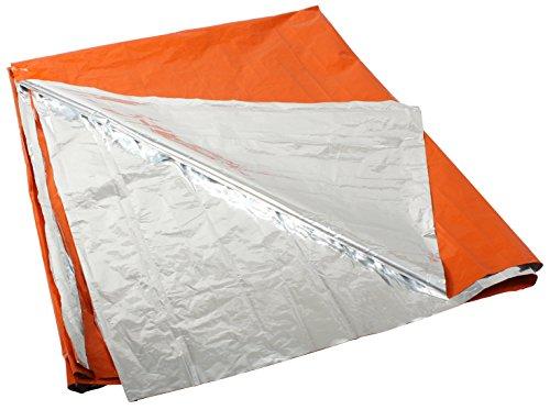 (Rothco Polarshield Survival Blanket, Orange/Silver)