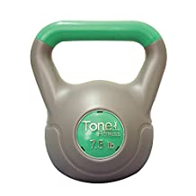 Tone Fitness SDKC-TN005 Cement Filled Kettlebell