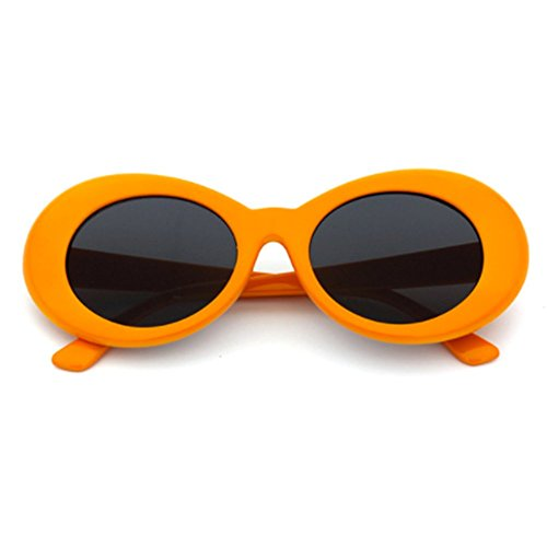 a66c6cde009c ... Sunglasses Cobain Oval Thick Frame Clout Goggles (Orange Frame + Grey  Lens). BUY ONLINE · Belle Donne - Womens Fashion Hot Celebrity Style Gold  Chain ...