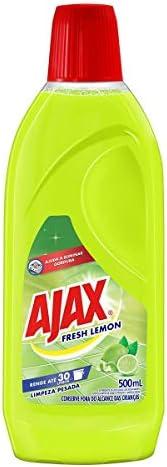 Limpador Diluível Ajax Fresh Lemon 500Ml