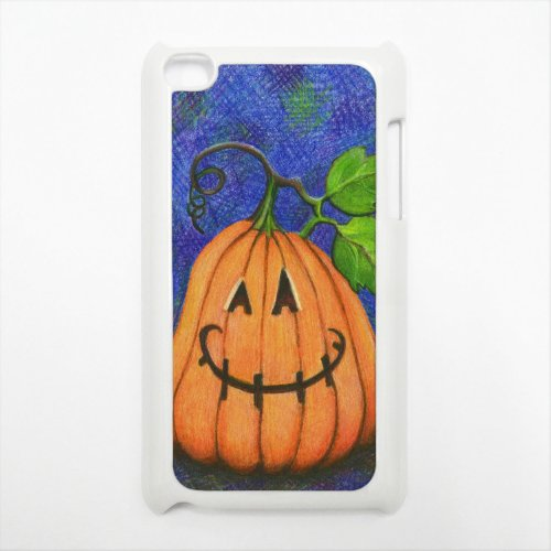 Happy Halloween Apple iPod Touch 4g White Hard Case Original Holiday Art]()