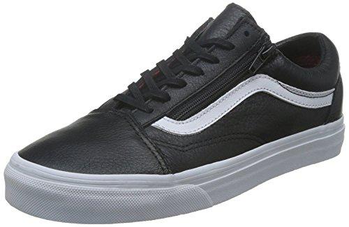 Vans Unisex Old Skool Leather Zip Plaid Flannel VN0A3493M1U, US Men 10 (Old School Vans Shoes compare prices)