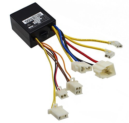 LotFancy 24V Control Module with 7 Connectors for Razor E100(V10+), E125 (V10+), E150 (v1+), E175, eSpark(V41+), Trikke E2(V1+) Models, Replace PN: ZK2400-DP-LD (ZK2400-DP-FS), W13111612015