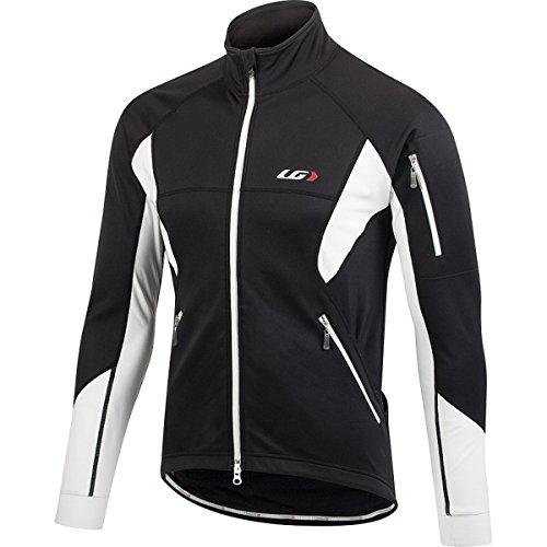 Louis Garneau Men's Enerblock 2 Jacket Black/White Large