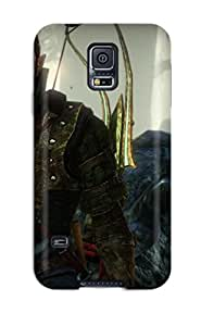 Premium The Witcher Back Cover Snap On Case For Galaxy S5