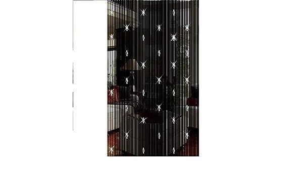 Cortinas de cordón de Lulalula con cuentas negras, para puerta o ...