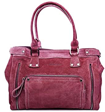 Longchamp Florence Tote Bag for Women - Leather, Purple
