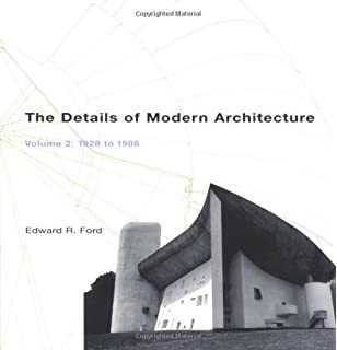 the details of modern architecture the mit press edward r ford