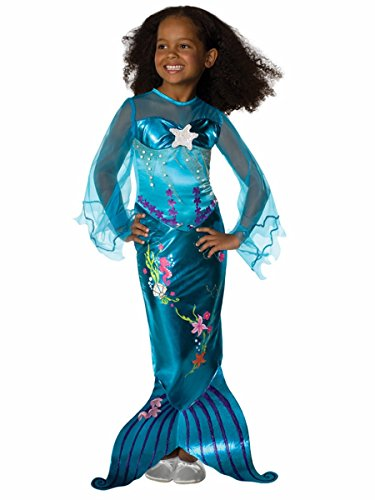 Blue Magical Mermaid Costume - Medium (Cool Haloween Costume Ideas)