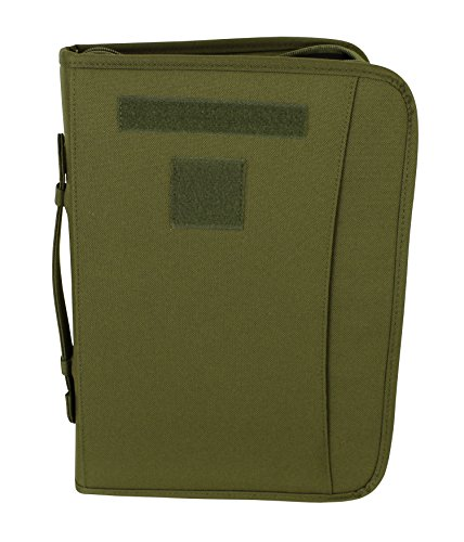 Green Padfolio (OD Green Zippered 3 Ring Binder And Padfolio (Olive Drab))