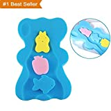 Best Baby Sponges - Soft Infant Baby Bath Sponge Cushion Anti Bacterial Review